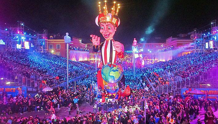 Καρναβάλι Νίκαιας, ο Βασιλιάς της Μόδας