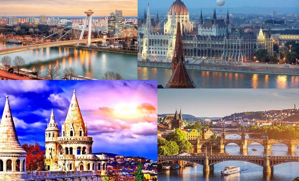 Πρωτεύουσες Κεντρικής Ευρώπης